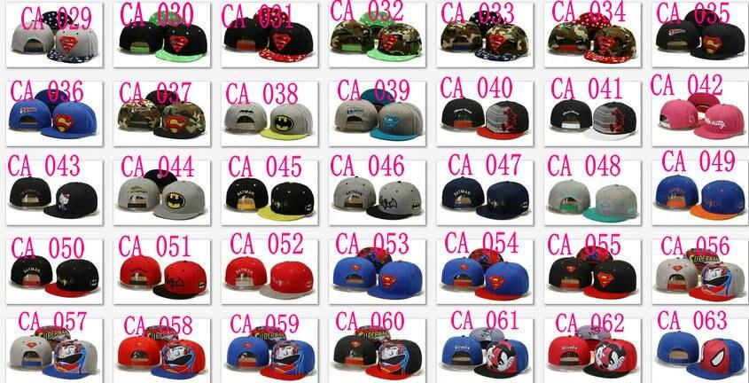 e6387a0bd3b Cheap Batman Snapbacks caps most popular Adjustable superman hats wholesale    dropshipping free shipping cartoon style-in Baseball Caps from Apparel ...