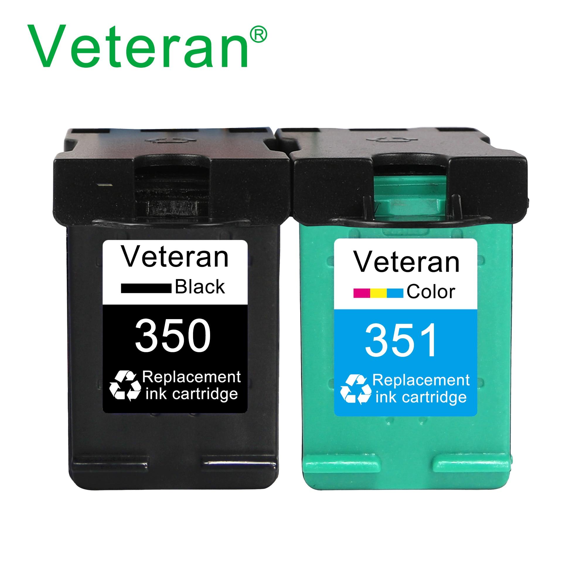Сменный чернильный картридж Veteran 350XL 351XL для принтера hp 350 351 hp350 D4200 C4480 C4580 C4380 C4400 C4580 C5280 C5200 C5240