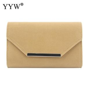 Image 2 - beige Clutch Bags For Women envelop handbags wedding party clutches 2019 Female Sac A Main blue female with chain clutch bag