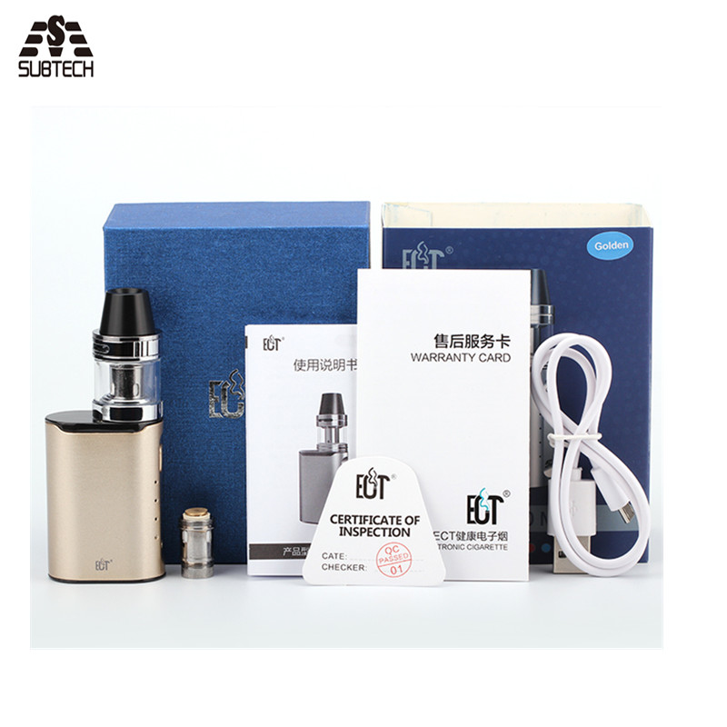 New hot ! Original Electronic Cigarette Box Mod ECT C30 mini 30w 1200mah built-in battery top filling fashion e cigarette
