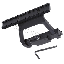 AK 74U Mount Quick release Aluminum 20mm Tactical Scope Sight Rail Mount Bracket Holder Base For