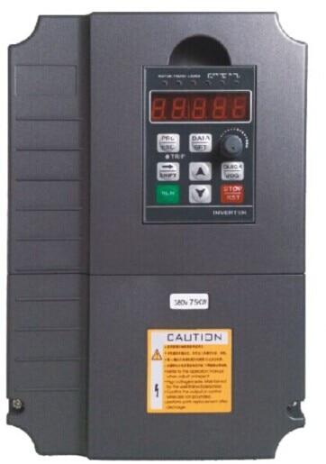 VFD onduleur 5500 w 380 V AC variateurs de fréquence 5.5kw 0-400 hz pour le contrôle de vitesse