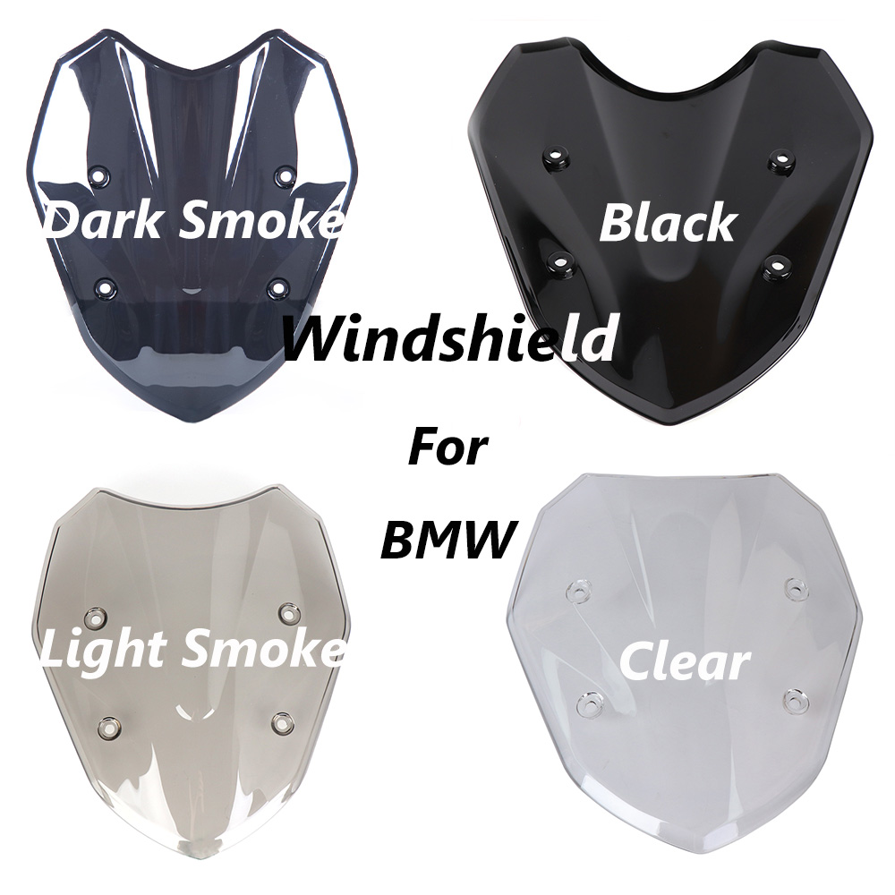 Motorcycle Windshield Windscreen For BMW S1000XR 2017 High Quality ABS Black White Windscreen Motorcycle S1000XR 2017 Motorbike for bmw g310r 2017 on motorcycle windshield windscreen with mounting bracket high quality abs plastic