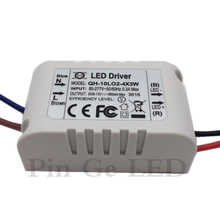 цена на 5 Pieces Isolation 10W AC85-277V LED Driver 2-4x3W 600mA DC6-13V LED Power Supply Constant Current Ceiling Lamp Free Shipping