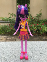 Free Shipipng 9 Toy Doll Action Figure EG Girl Twilight Sparkle W Necklace New No Package
