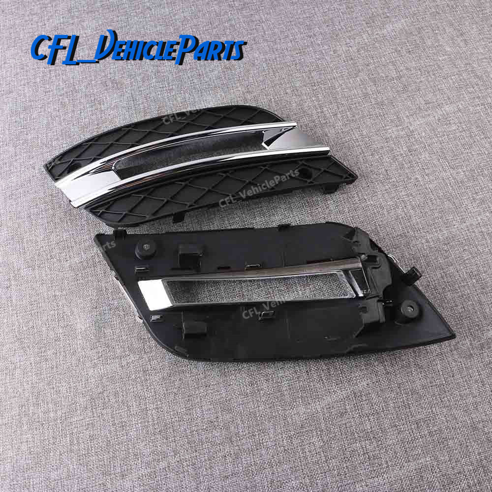 DRL Light Lamp Cover Front Bumper Grille 1648801924 1648802024 For Mercedes-Benz ML350 ML450 2009 2010 2011(China)