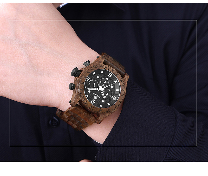 brown wood-watches-Men's-Waterproof-Wooden-Watch-A19G-(26)