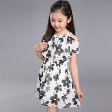 Платье для маленьких девочек лето 2019 модная детская одежда