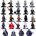 24pcs/lot Star Wars Darth Nihilus Kylo Ren R2D2 Clone Trooper Building Blocks Figures Bricks Gift Toys for Children