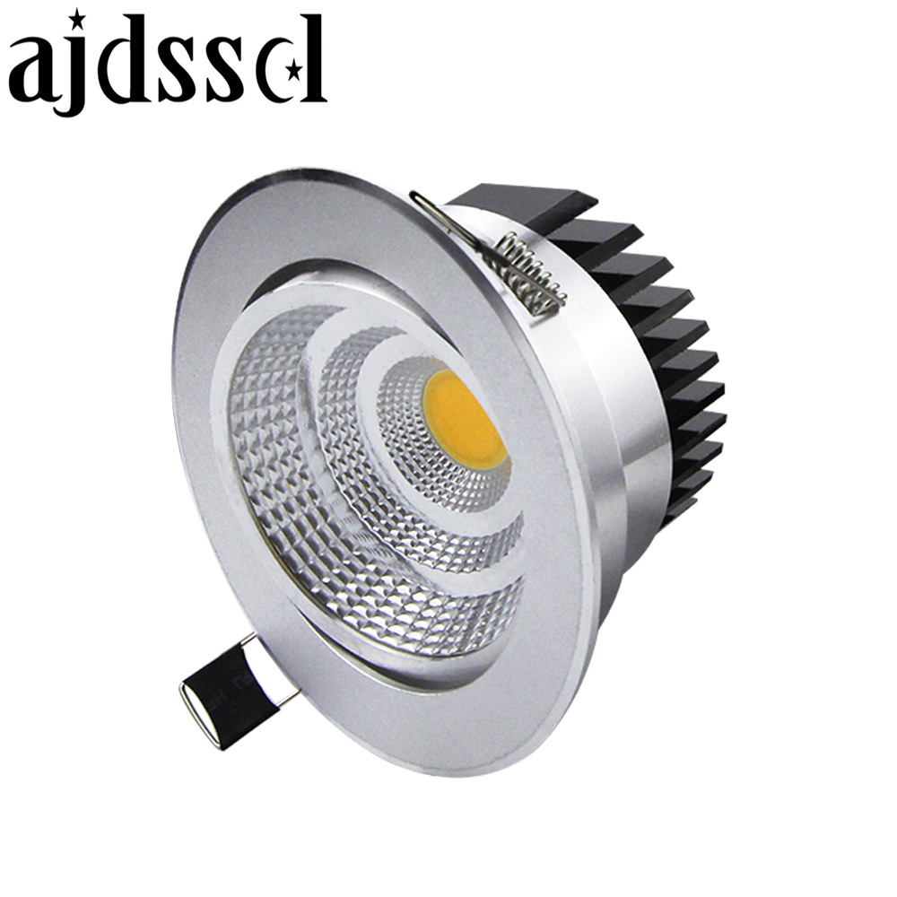 Lampe Led Spot Led Spot Led Downlight Dimmable Cob Bright Recessed 9w 12w 15w 21w