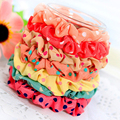 10Pcs/Lots Hair Rope Scrunchy Elastic Hair Band Ponytail Holder Girls Sweet Headwear Hair Accessories Styling Tools For Woman