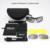 Daisy X7 Militar Óculos de Proteção à prova de Bala-Lente Dos Óculos De Sol 4 Homens Do Exército Caça Tiro Airsoft Óculos Táticos