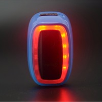 X6 Smart Bicycle Rear Light Taillight 16 LED 7 Flash Modes Shock Sensing USB Rechargeable