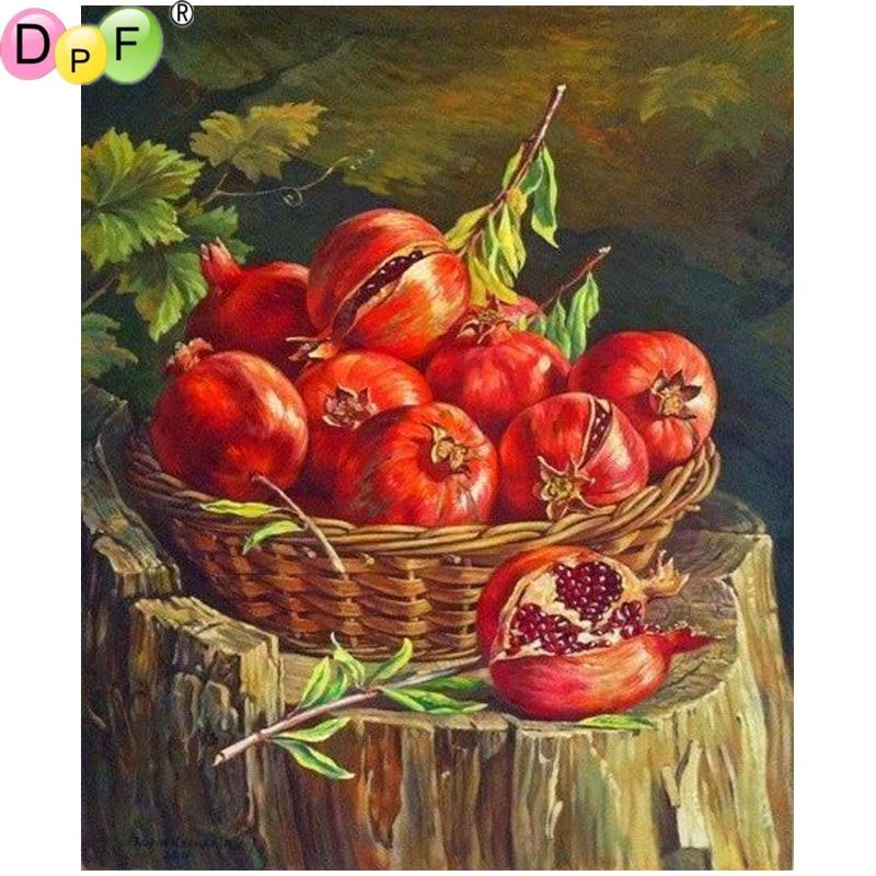 Dpf Diy Nar 5d Elmas Boyama çapraz Dikiş El Sanatları Elmas Mozaik