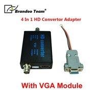 BRANDOO 1080P HD Convetor adapter AHD/TVI/CVI/CVBS to CVBS video signal converter.Factory direct,Free shipping.