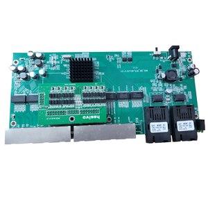 Image 4 - Reverse PoE 8x10/100/1000M RJ45 switch Ethernet Gigabit Ethernet In Fibra Ottica Single Mode e 2 Porta in fibra SC Bordo