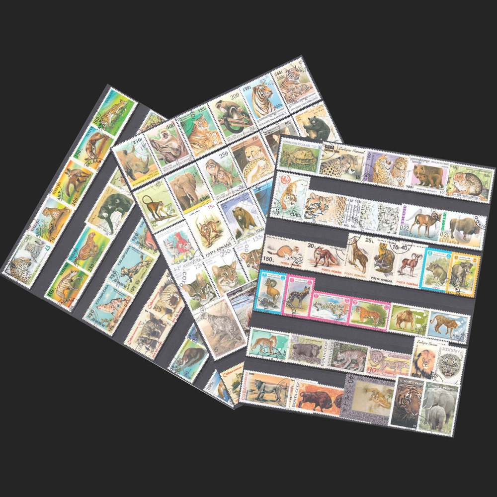 Topic Animal, 50 PCS/LOT All Different  From Many Countries, NO repeat , Uesed Postage Stamps With Post Mark For Collecting фильм кадеты topic index