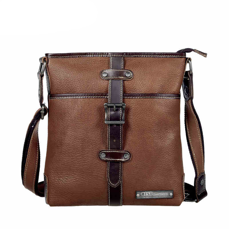 Здесь можно купить  Retro embossing men genuine leather messenger bag boutique man bag Top Layer Cowhide Leather men