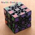 Nueva Rueda de Engranaje Cubo Mágico Puzzle de Juguetes Educativos Cubo Mágico 6 Lados