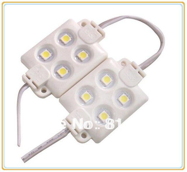 ABS plastic 4 pieces 5050 SMD LED module light LED light 3M adhesive back High brightness  sc 1 st  AliExpress.com & ABS plastic 4 pieces 5050 SMD LED module light LED light 3M ... azcodes.com