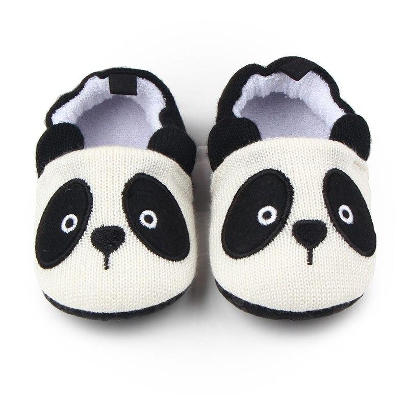 Милая детская обувь для младенцев для новорожденных мальчиков и девочек, вязаная панда, ручная работа - Цвет: 12