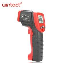 Инфракрасный термометр измеритель температуры лазерный термометр ЖК-цифровой термометр Бесконтактный WINTACT WT550