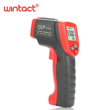 infrared thermometer temperature meter laser lcd digital non-contact free shipping WINTACT WT550