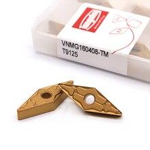 VNMG160404 TM T9125/VNMG160408 TM T9125 Tungaloy Externe Draaigereedschappen Carbide insert Hoge kwaliteit Draaibank cutter Tool Tokarnyy