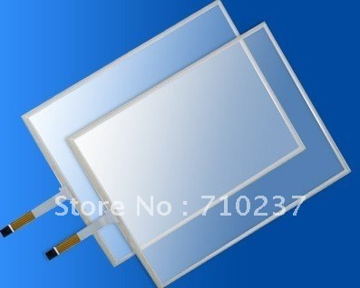 "17"" 5 wire Resistive touch screen panel 16  : 10  free shipping cost"