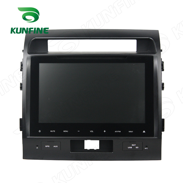 Quad Core 1024*600 Android 5.1 Car DVD GPS Navigation Player Car Stereo for Toyota Land Cruiser 2016 Radio Steering WheelControl