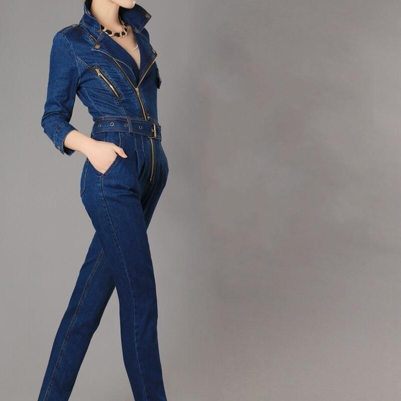 الفاخرة أعلى جودة جديد الأزياء النسائية الرمز حللا الإناث سليم صالح نحيل الجينز السروال القصير مربوط الدنيم حللا حجم S XL-في أفرول من ملابس نسائية على  مجموعة 3