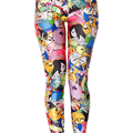 3D print Finn and Jake winter warm Harajuku punk adventure time workout push up spandex plus size fitness leggings women pants