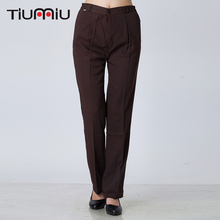 Women Brown Pants Wholesale Restaurant K