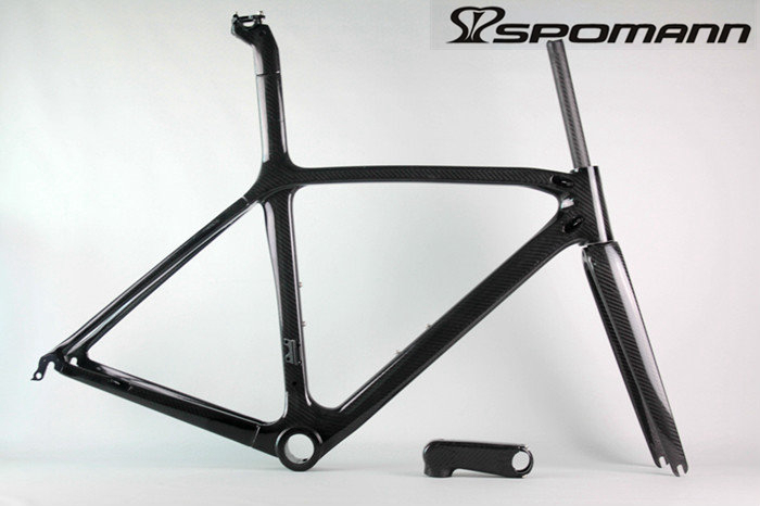 Cadre Carbon Route 2017 Bicycle Frameset Made of Carbon Fiber Road Bike Frame Carbon Bicycle Frame+Fork+Seatpost Bicycle Parts 2018 carbon track frame carbon fiber fixed gear bike frame carbon racing tracking bike frameset 49 51 54cm with fork seatpost