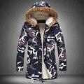 M-5XL!!! Stylish Winter Jackets Camouflage Outdoor Men Jacket Men's Fashion Temperament More Warmbig Size Parka men coat winter