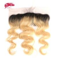 Али queen hair продукты Virgin волос предварительно сорвал волос линии Кружева Фронтальная объемная волна 10 до 18 13x4 кружева фронтальной швейцарск