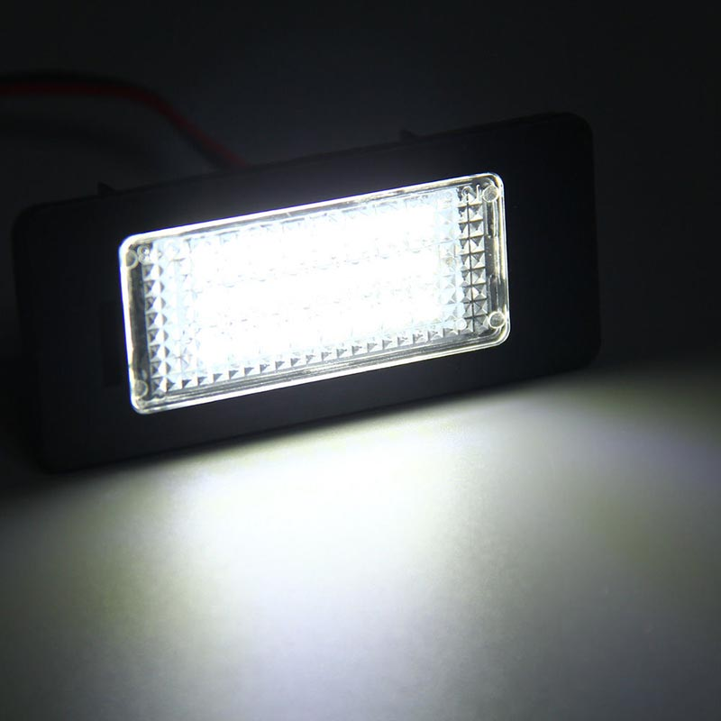1x Audi A5 8F7 Bright Xenon White 3SMD LED Canbus Number Plate Light Bulb