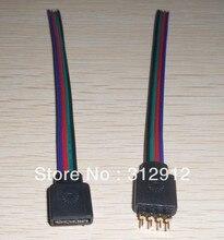 4pin мужчин и 4pin самка с 15 см кабельного разъема для 10 мм rgb из светодиодов ленты