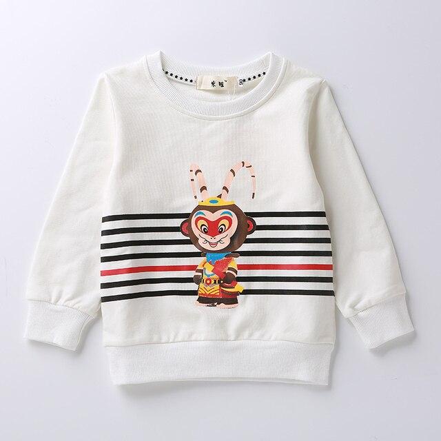 Детская одежда 2-5 Лет дети дети детские мальчики девочки футболки весна осень новый мультфильм дети дети с длинным рукавом футболки