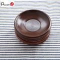 3 Piece/ Lot Small 12x1.5 Cm Wood Saucers Eco-Friendly Drinkware Round Mat for Cups Wooden Kitchen Dining Home Supply