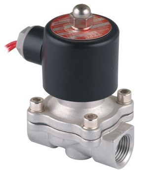 2 Stainless Steel Solenoid Water Valves 2S500-50 Normally Closed2 Stainless Steel Solenoid Water Valves 2S500-50 Normally Closed