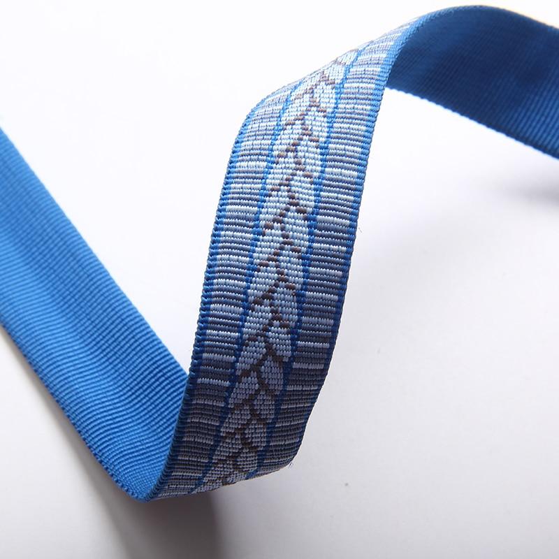 Neue ankunft hohe qualität 22mm rohr polyester gurtband flache hallow polyester strap jacquard polyester gurtband-in Gurtband aus Heim und Garten bei  Gruppe 1