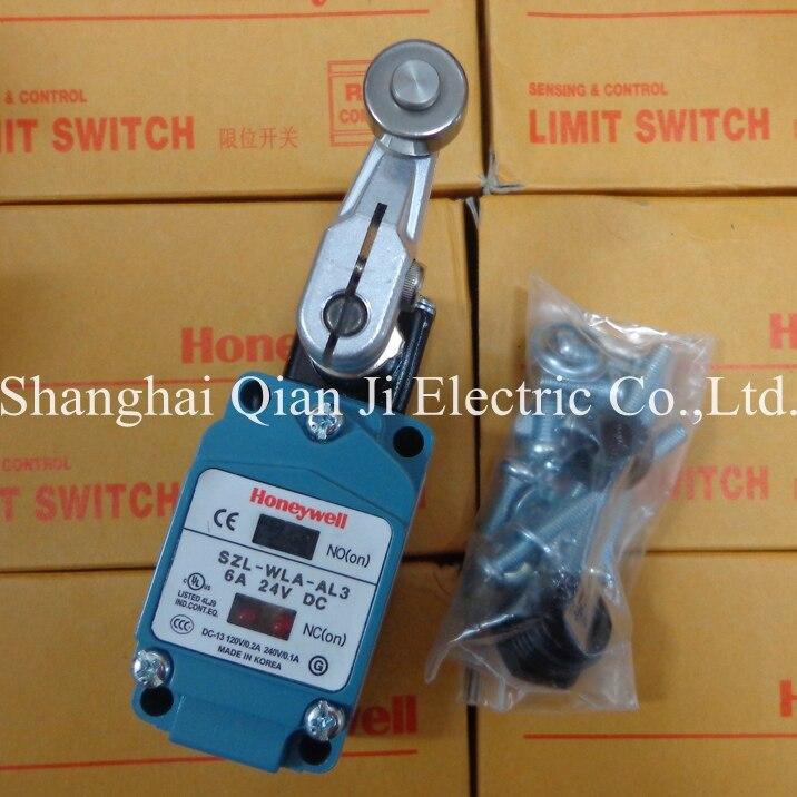 SZL-WLA-AL3 6A 24VDC travel switch dhl ems 5 sests 1pc honeywell limit switch szl wlc b szl wl c b szlwlcb new in box