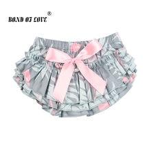 747d5a5b36ad7 Nouveau-né bébé filles Tutu jupe coton arc flamant imprimé bébé filles jupe  bébé photographie accessoires 0-24 mois bébé fille v.