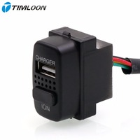 2in1 Car 5V 2 1A USB Interface Charger Car Air Purifier Ionizer Negative Ion Use For