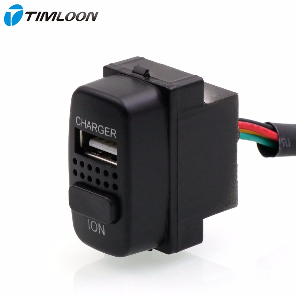 2in1 Car 5V 2.1A USB Interface Charger ,Car Air Purifier,Ionizer,Negative Ion Use for Mitsubishi,asx,lancer,outlander,pajero