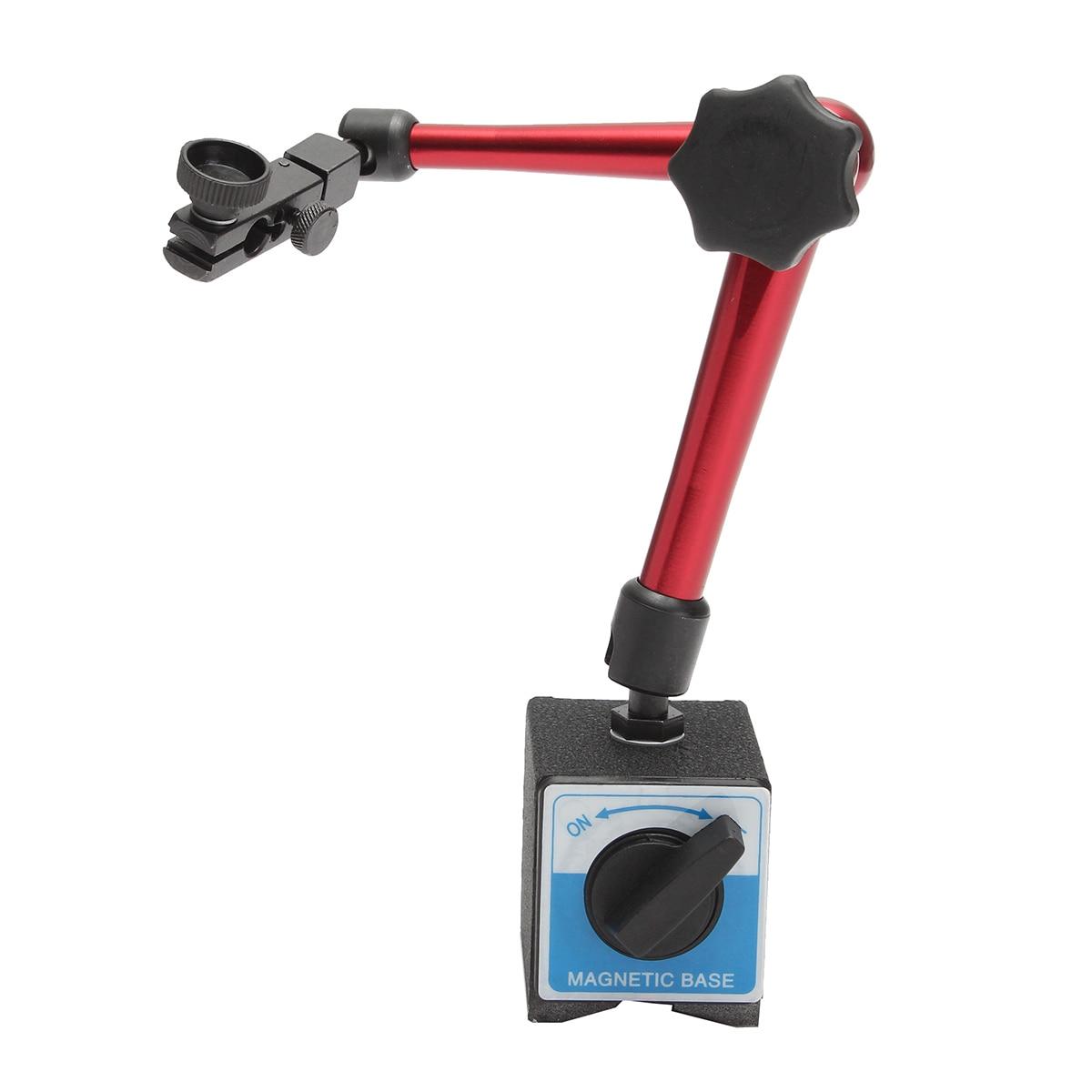 35cm Magnetic Base Stand Digital Dial Test Indicator Flexible Holder Table Scale Precision Indicator Center Finder Measurement