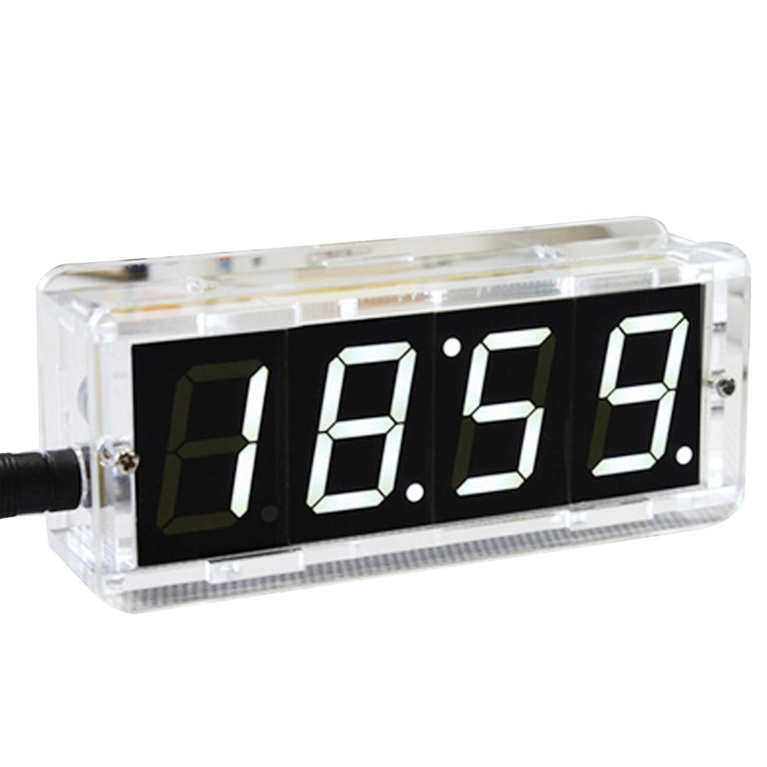 Alarm Clocks Clocks Mrosaa Digital Lcd Display Alarm Clock Kid Table Clock Temperature Humidity Monitor Hygrometer Touch Screen Desktop Alarm Clocks Good Taste