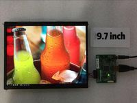 9.7 inch 2048*1536 IPS LCD monitor HDMI miniDP driver board module screen display Slim LCM panel for 3D printer matrix 4:3