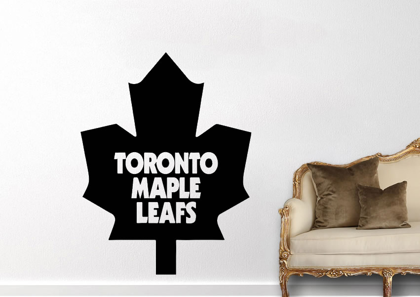 Canada Toronto Maple Leaf Wall Decal Fashion Home Decor For Kids Room Living Room Removable Art